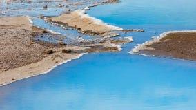 Blesi - heiße Quelle nahe Stokkur-Geysir Lizenzfreie Stockfotos