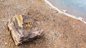 Blesi - heiße Quelle nahe Stokkur-Geysir Lizenzfreies Stockfoto
