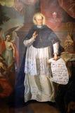 Blessed Agostino Gasotti bishop of Zagreb stock photos