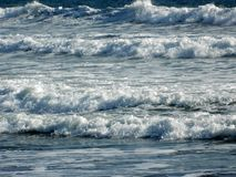 Blessed with beautiful sea waves Stock Image