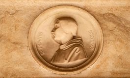 Blessed Duns Scotus Stock Image