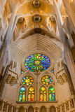 Blessed portal in Sagrada Royalty Free Stock Photography