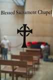 Blessed Sacrament chapel Stock Photography