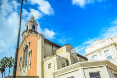 Blessed Sacrament Church School hollywood on Sunset Blvd Stock Photography