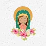 Blessed virgin design Stock Photos
