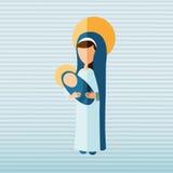 Blessed virgin design Stock Photo