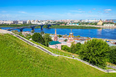 Blessed Virgin Mary Church. Cathedral Church of the Holy Blessed Virgin Mary in Nizhny Novgorod. Nizhny Novgorod is the fifth largest city in Russia stock photo
