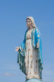 The Blessed Virgin Mary in front of the Roman Catholic Diocese, public place in Chanthaburi. Stock Images