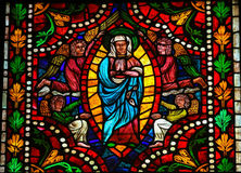 Blessed Virgin Mary in Heaven Royalty Free Stock Images