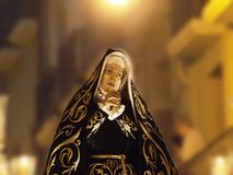 Blessed Virgin Mary, Procession Royalty Free Stock Photos