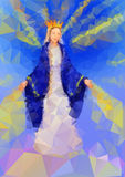 Blessed Virgin Mary Queen Royalty Free Stock Photo