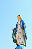 Blessed Virgin Mary statue Stock Image