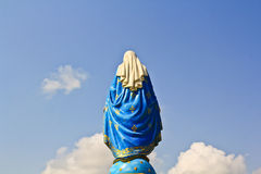 Blessed Virgin Mary statue Stock Photos