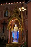 The Blessed Virgin Mary statue Royalty Free Stock Image