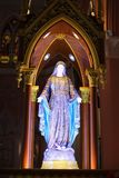 The Blessed Virgin Mary statue Stock Images