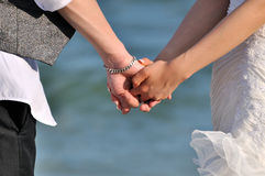 Blessedness of young couple Royalty Free Stock Image