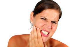 Blesser des dents image libre de droits