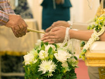 Blessing ceremony Royalty Free Stock Photos