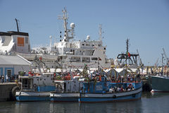 Blessing of fishing fleet annual festival Cape Town Stock Photos