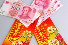 Blessing red envelopes of China Royalty Free Stock Image