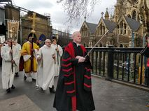 Blessing of the Thames royalty free stock image
