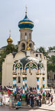 Blessing of water-canopy chapel. Holy Trinity St. Sergius Lavra. Sergiev Posad, Royalty Free Stock Image