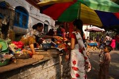 Blessings of Kathmandu, Nepal Royalty Free Stock Images
