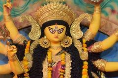 Blessings and prayers of Goddess Durga stock image