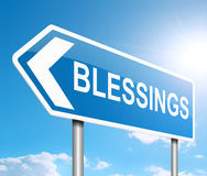 Blessings sign concept. vector illustration