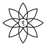 blessnes yantra ισχύος Στοκ φωτογραφία με δικαίωμα ελεύθερης χρήσης