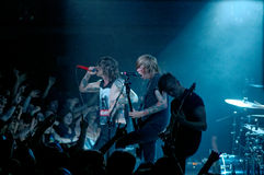 Blessthefall concert Lucerna Musicbar Praha 16 Royalty Free Stock Images
