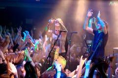 Blessthefall Lucerna Musicbar Prag 2 Lizenzfreies Stockbild
