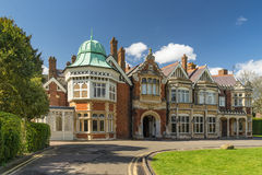 Bletchley Park in Buckinghamshire stock image