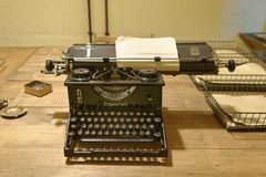 Free Bletchley Park, Vintage Typewriter Royalty Free Stock Image - 128079546
