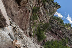 Bletterbach-Schlucht Stockbilder