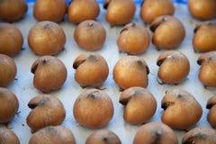 Bletting Mispelfrucht Stockfotos
