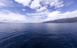 Bleu 5 d'Ohrid Photo libre de droits