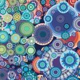 Bleu absolu de couleur Photos libres de droits