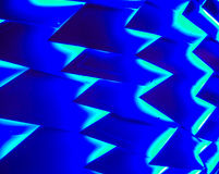 Bleu abstrait Images stock