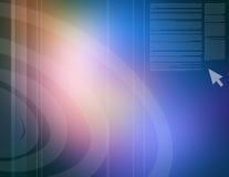 Bleu abstrait Images libres de droits