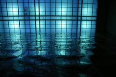 Bleu abstrait Photographie stock libre de droits