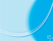 Bleu abstrait de composition Photo libre de droits