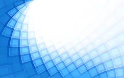 Bleu abstrait de fond illustration libre de droits