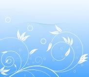 bleu abstrait de fond illustration de vecteur