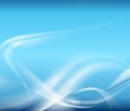 bleu abstrait de fond Photographie stock libre de droits