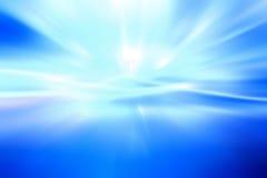 bleu abstrait de fond Photographie stock
