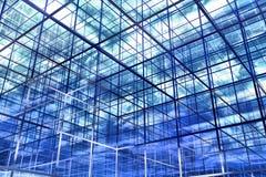 bleu abstrait du fond 3d Photographie stock libre de droits