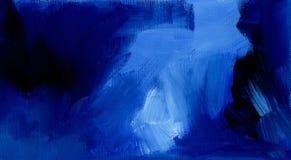 Bleu abstrait graphique de fond Photos libres de droits