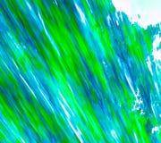 Bleu abstrait/vert Photos libres de droits