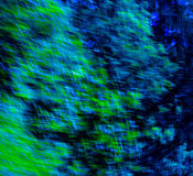 Bleu abstrait/vert Image stock